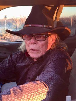 Boyd Elder on the road, 2017.