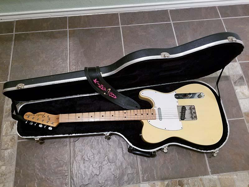 Boyd Elder's Fender Telecaster, vintage 1974-75, serial no. 402993.