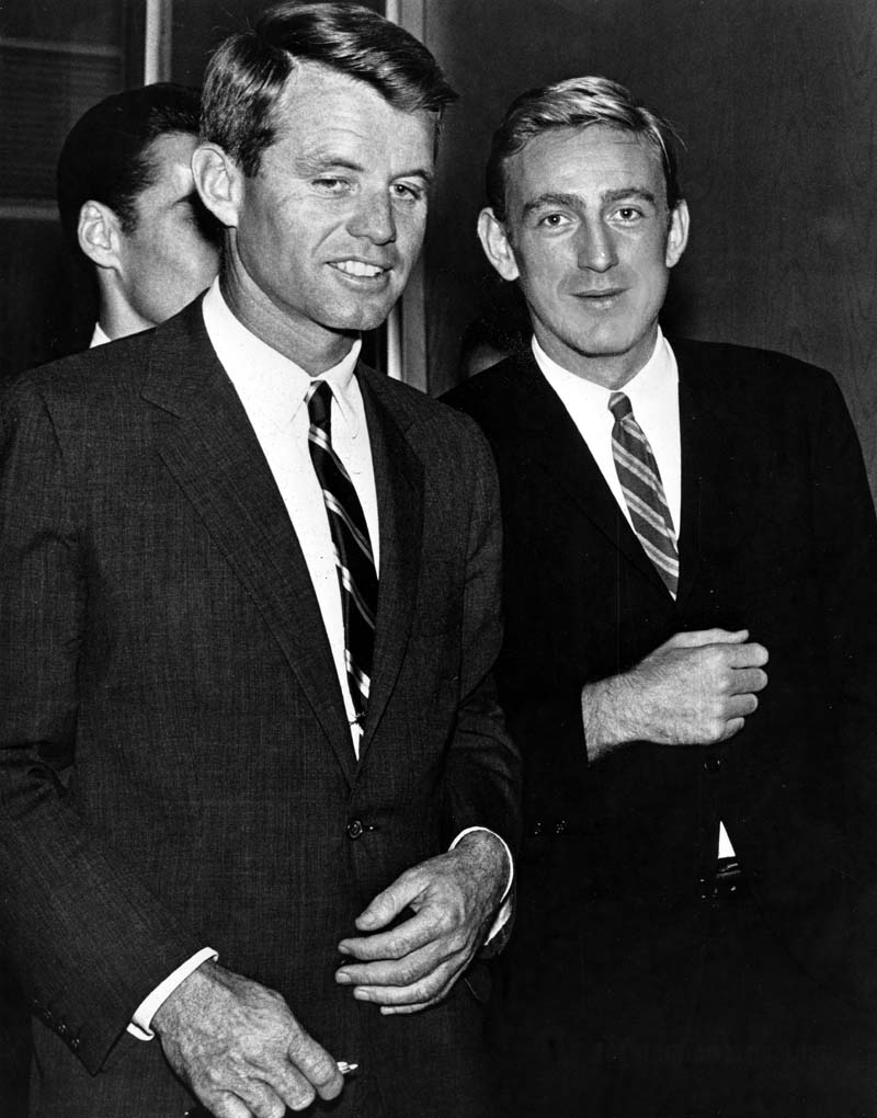 The Politician and the Poet: Robert F. Kennedy and Rod McKuen.