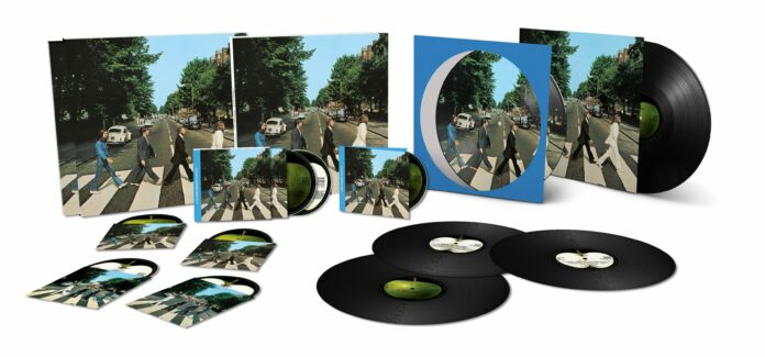 beatles abbey road 50th anniversary editions