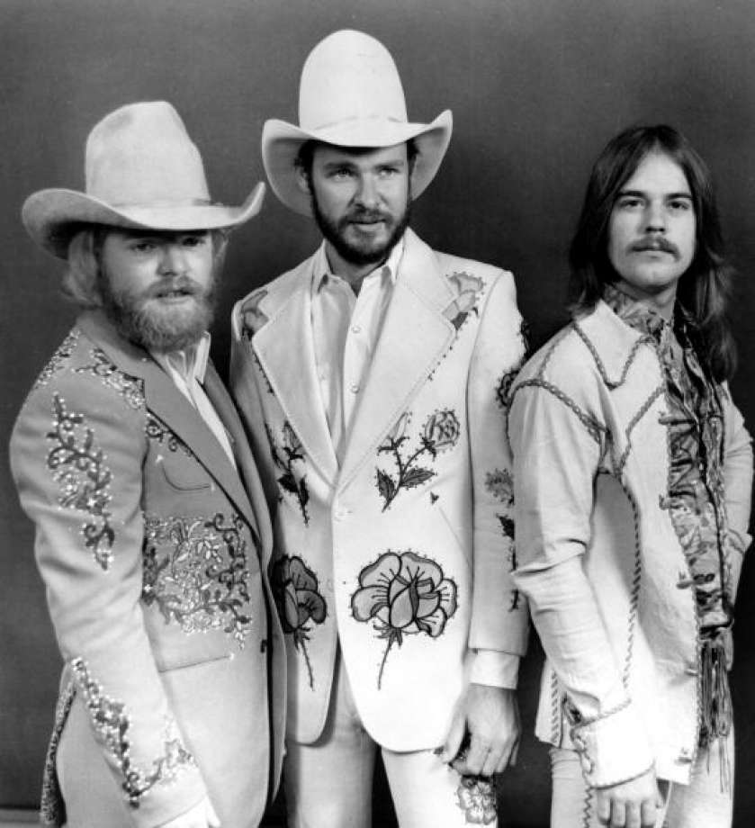 Dusty, Billy and Frank
