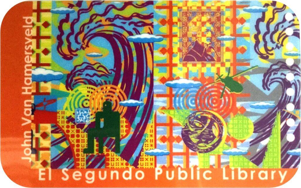 el segundo library card